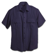 Workrite Fire Officer Shirt, Short Sleeve, Midnight Navy