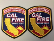Cal Fire Uniform Patches