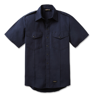 Fire Chief Short Sleeve Shirt, with working Eqaulets