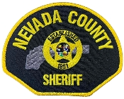 Nevada County Sheriff Shoulder Patch (SET)