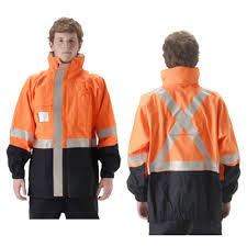 "NASCO Omega 5000 Reflective ""X"" Back Jacket"
